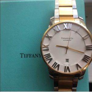 Tiffany & Co Atlas 3 hand 37.5mm 18K Gold Watch